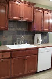 please post pictures of kitchen sinks without a window black