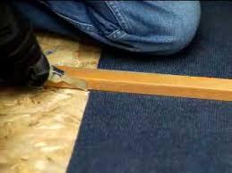 removing glued down carpet dremel multi max