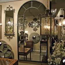 arched wall mirror uttermost arch paneled floor aspire home accents window arched wall mirror