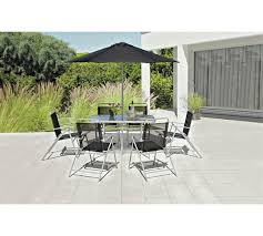 Buy Sicily 4 Seater Patio Furniture Set  Black At Argoscouk Argos Outdoor Furniture Sets