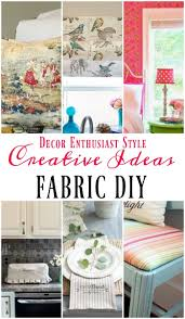 Cool Diy Projects Diy Projects With A Yard Of Fabric Our Southern Home