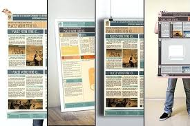 A0 Size Poster Template Ao Poster Template Poster Templates On A0 Research Poster