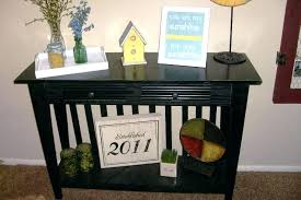 black entry table image of iron entryway finish console sofa with drawer by ehomes
