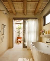 Wood Ceiling In Bathroom