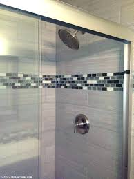 bathroom glass accent ideas with accent in shower glass mosaic shower s glass accent bathroom glass tile