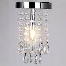 decor ideas unique small crystal chandeliers mini crystal chandelier lighting flush mount ceiling light fixture single