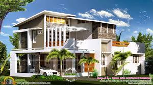 2000 sq ft modern contemporary house plan kerala home for mordern house design