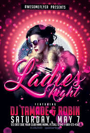 Free Flier Template Ladies Night Free Flyer Template Download Free Psd