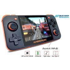 Máy Chơi Game RG350 Hỗ Trợ 20 Dòng Game Có PS1 Tặng Kèm Thẻ TF 32GB Hơn  10000 Games