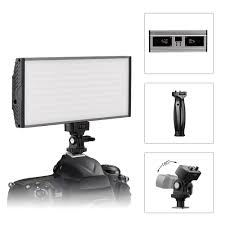 Camera Light On Computer Us 41 39 10 Off Tolifo Pt 30b 30 Ws Bicolor Led Video Light Portable Panel With Led Display And Hotshoe Mounted For Camera And Dslr Or Camcorder In