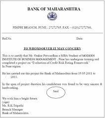 Mba Internship Certificate Format 2018 2019 Studychacha