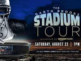 garth brooks to set se on fire in