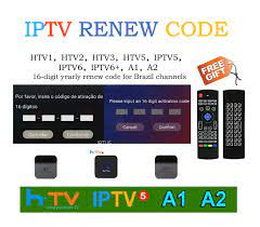 Brazil TV Box Renew Code Activation Code for A1/A2/ HTV/IPTV/King  5/6,Subscription 16-Digit Renew Code,One Year, Brazilian IPTV TV Box Code-  Buy Online in Romania at desertcart.ro. ProductId : 142011980.