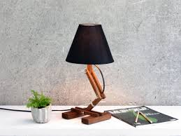 tiny unique desk. Marvelous Custom Wooden Desk Lamp With Free Adjustable Plank Black Shade Top Tiny Unique