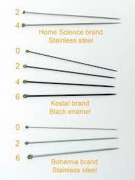 Insect Pins Entomological Size 4 Black Enamel