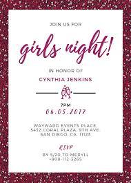 Purple Glam Bachelorette Party Invite Templates By Canva