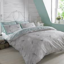 image of vintage duvet cover grey