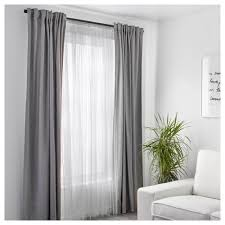 Curtains Lill Net Curtains 1 Pair White 280x250 Cm Ikea