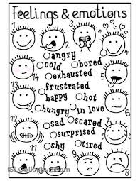 Small Picture Feelings and emotions matching worksheet Free ESL printable