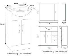 Bathroom Sink Size Bathroom Sizes Standard Bathroom Sink Size Interesting How Tall Is A Bathroom Vanity