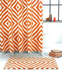 orange bath rug set bathroom rugs house burnt