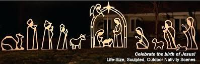 outdoor wooden nativity set celebrate the birth of large outdoor wooden nativity sets