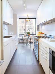 Narrow Kitchen Design Long Narrow Kitchen Design Phidesignus