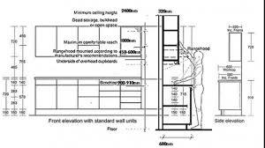 Kitchen Cabinet Height Standard Standard Size Kitchen Cabinets Uk