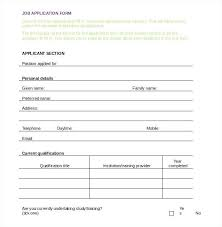 job application form template blank job application form template anitarachvelishvili info