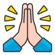 Afbeeldingsresultaat voor biddende handen emoji