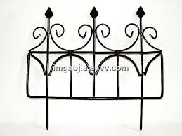 garden metal edge fence