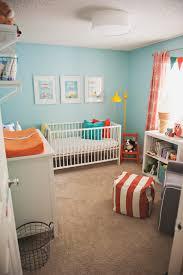 Orange And Teal Bedroom Love The New Grandsons Room Gender Neutral Teal Orange