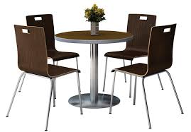 funky cafe furniture. Cool Cafe Table And Chairs 36 Round Walnut Laminate Set With Espresso Finish Bentwood Funky Furniture