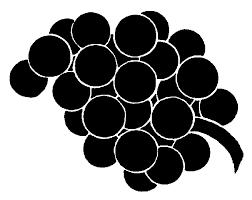 black and white grapes clipart. Brilliant Grapes White Grapes Clipart Grapes With Black And Clipart I