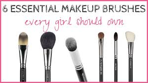 essential makeup brushes the only 6 makeup brushes a needs you