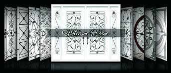 decorative window insert wrought iron and glass panels inserts for cabinet doors