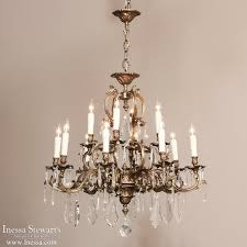 italian rococo brass and crystal 16 light chandelier with regard to popular house 16 light chandelier designs
