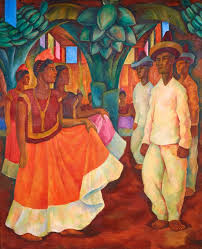 go rivera s baile en tehuantepec has sold privately for 15 7 million us setting a new world record for a work of latin american art