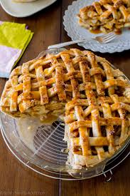 american apple pie recipe. Beautiful Recipe Here Is A Classic Latticetopped All American Apple Pie Bubbling With  Salted Caramel And On Apple Pie Recipe N