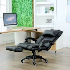 executive computer chair. Home Office Executive Computer Chair Footrest Recliner Racing Lift With Regard To Leather Ways E