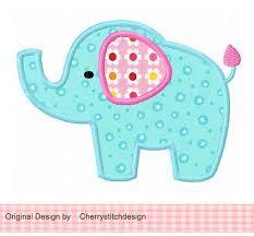89 best Applique - Elephants ! images on Pinterest   Drawings, DIY ... & Elephant 04 Applique -4x4 5x7 6x10-Machine Embroidery Applique Design- For  Samantha Adamdwight.com