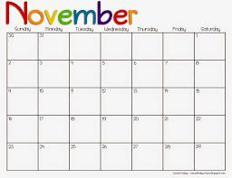 November 2015 Calendar Template On Free Printable Calendar