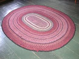 beautiful flooring rugs with oval pink braided rugs for living room decor inspiration