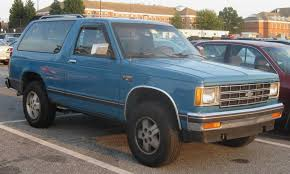 1991 Chevrolet S-10 Blazer - Information and photos - ZombieDrive