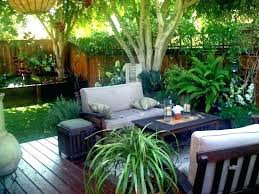 outdoor landscaping ideas for small spaces full image space gardening best backyard