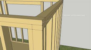 framing an exterior wall corner. Framing A Corner With 2 X 4   Small Solar Home Exterior Wall Toplate An