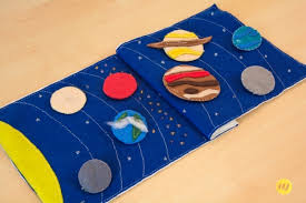 the planets in our solar system a quiet book following the sewing pattern of imagine our life