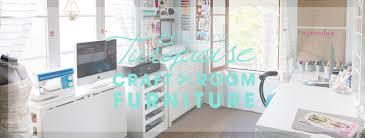 Something Turquoise Craft Room + Blog Office Full Of Martha Stewart Craft  Furniture