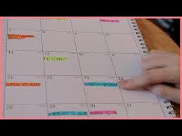 How To Organize An Agenda | Back To School 2013 - Youtube