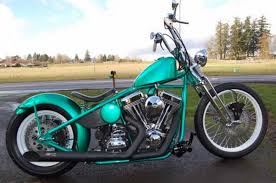 2016 custom built motorcycles bobber green for sale craigslist